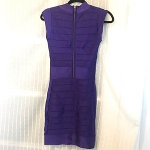 French Connection Dresses - Electric Purple 💜 Bandage Cocktail Dress